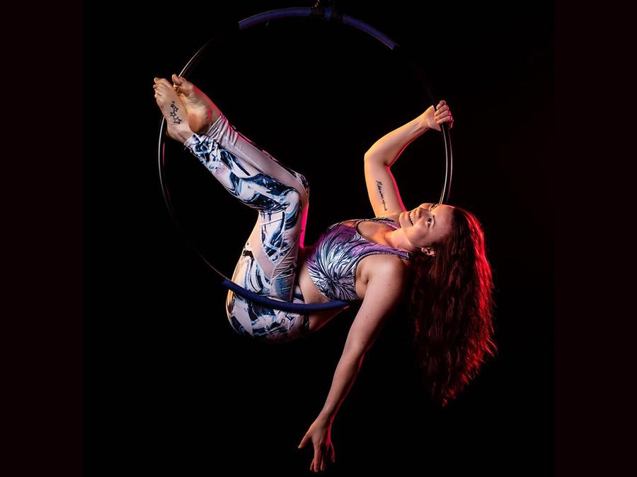 Jacqueline Poledance Aerial Hoop